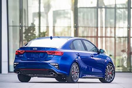blue 2020 Kia Forte GT