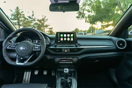 2020 Kia Forte GT interior