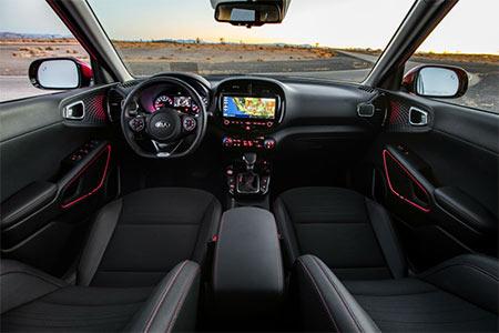 2020 Kia Soul rear view