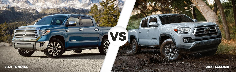 2021 Toyota Tundra vs. 2021 Nissan Titan in North Little Rock, Arkansas