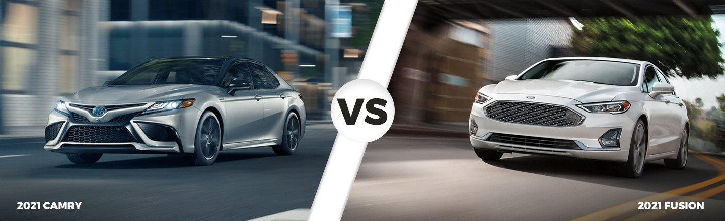 2021 Toyota Camry vs. 2020 Ford Fusion in North Little Rock, Arkansas