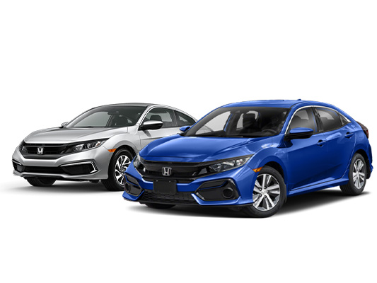 2020 Civic Coupe & Hatchback