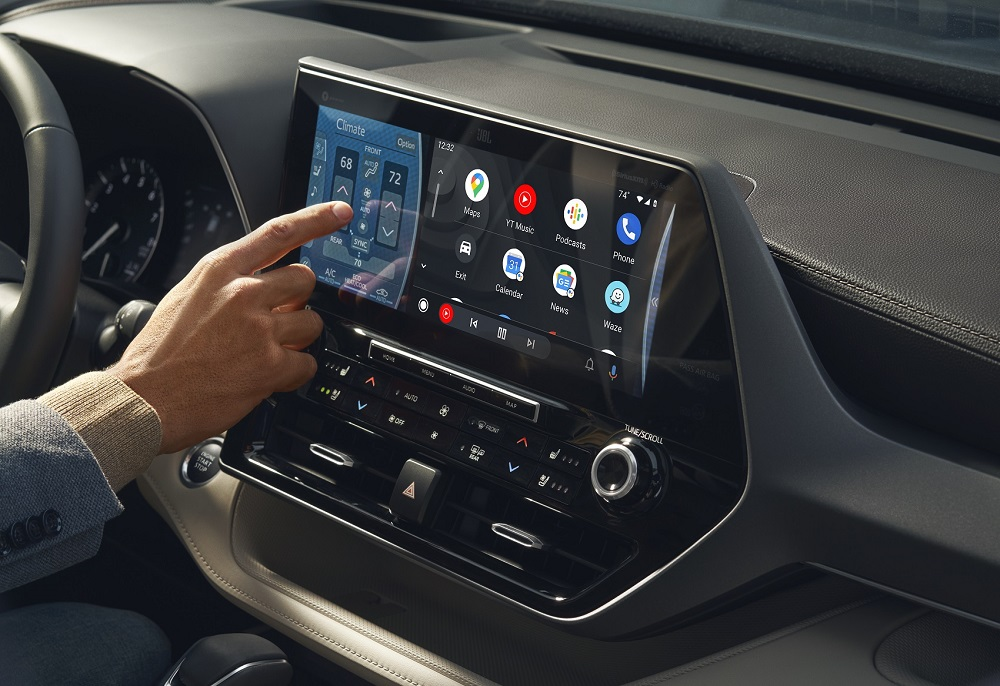 Toyota Highlander with Android Auto™ Technology