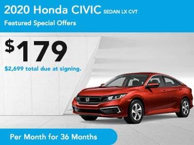 2020 Civic Sedan CVT LX
