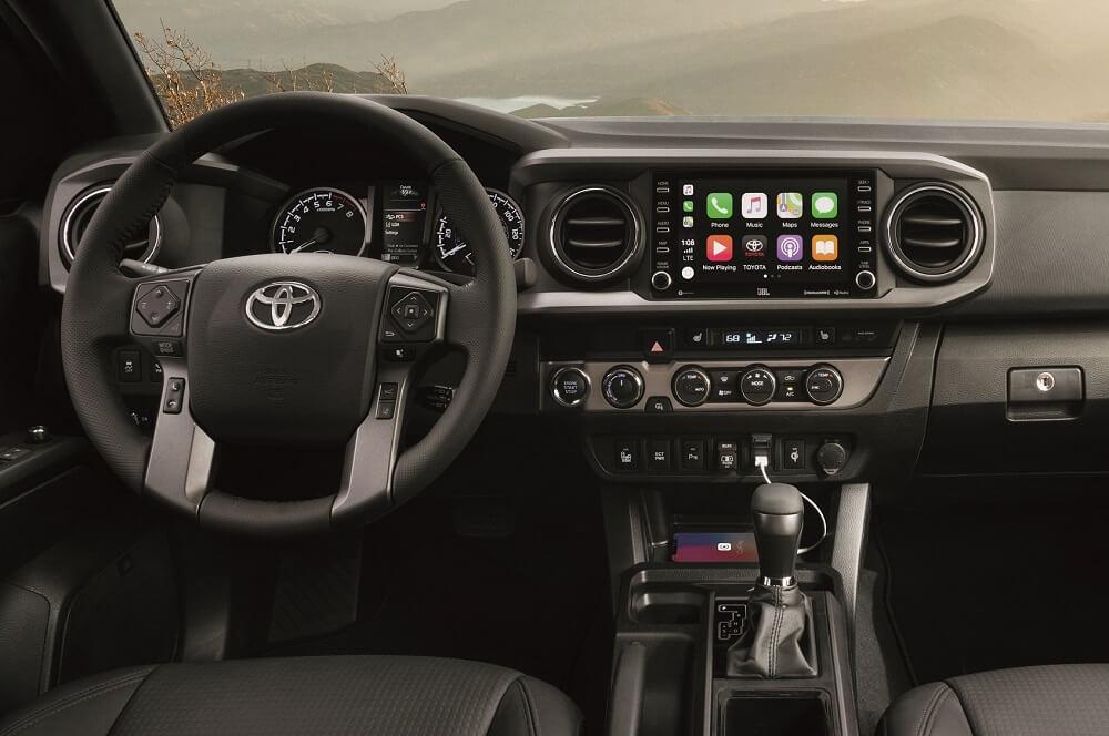 2021 Toyota Tacoma Interior with Apple CarPlay® Technology