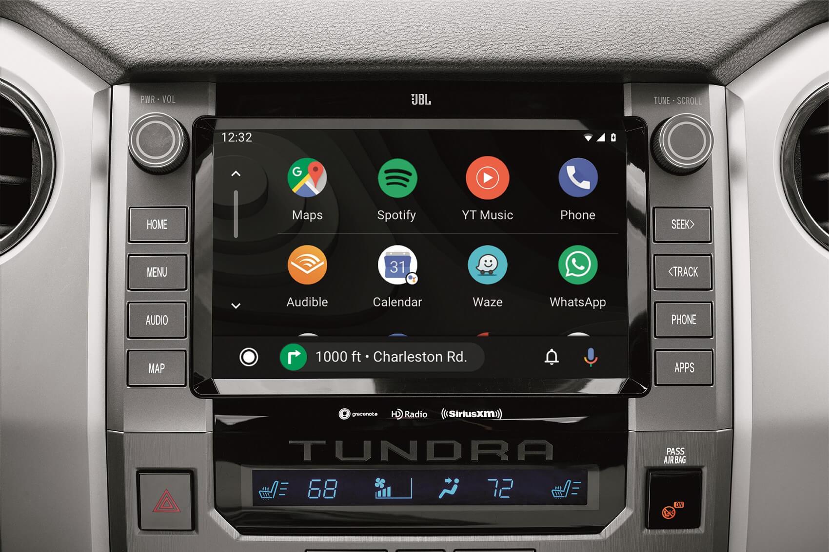 2021 Toyota Tundra Interior with Android Auto™ Technology
