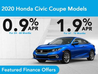 2021 Honda Civic Coupe Models