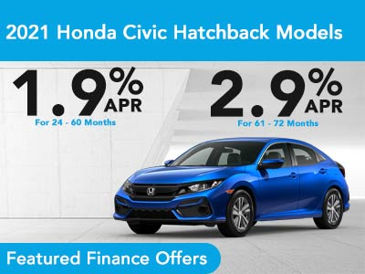 2021 Honda Civic Hatchback Models