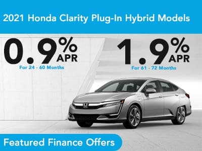 2021 Honda Clarity Plug-In Hybrid Models