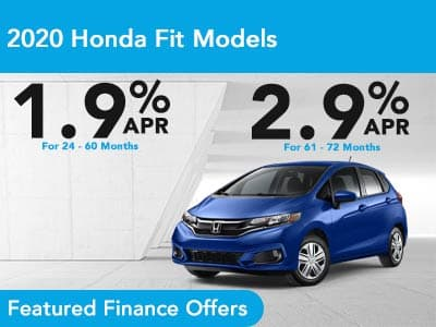 2020 Honda Fit Models