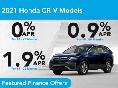 2021 Honda CR-V Models