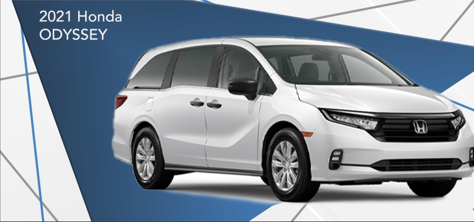 2021 Honda Odyssey Special APR