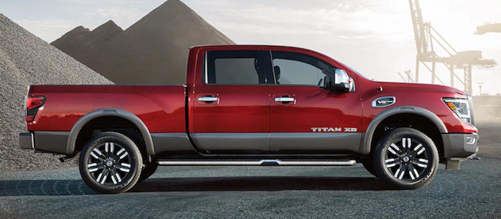 2021 Nissan Titan Trim Comparison in Fort Myers