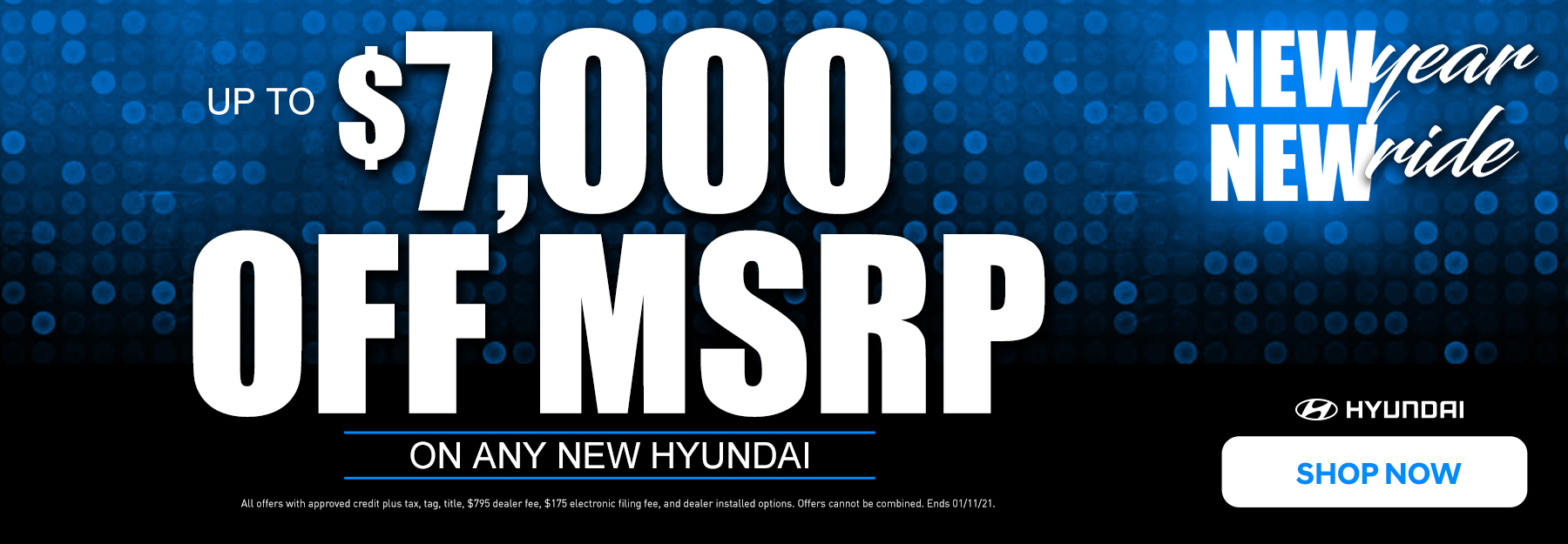 up to $7000 off MSRP