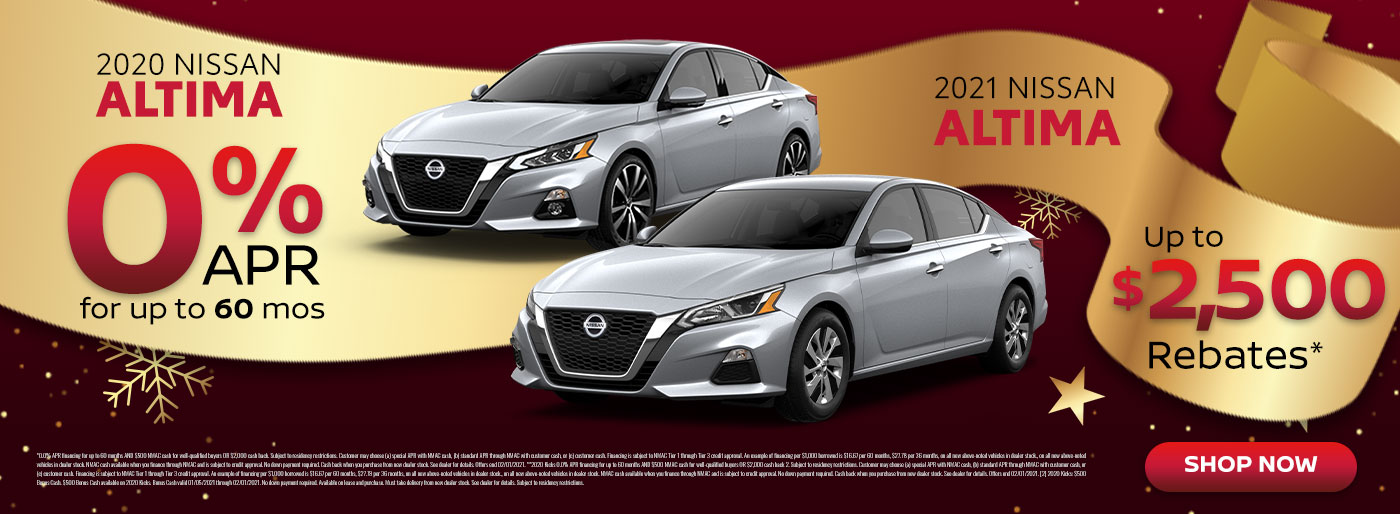 2020 Nissan Altima Offer