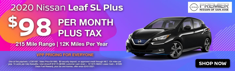 Nissan Leaf for $9 per month