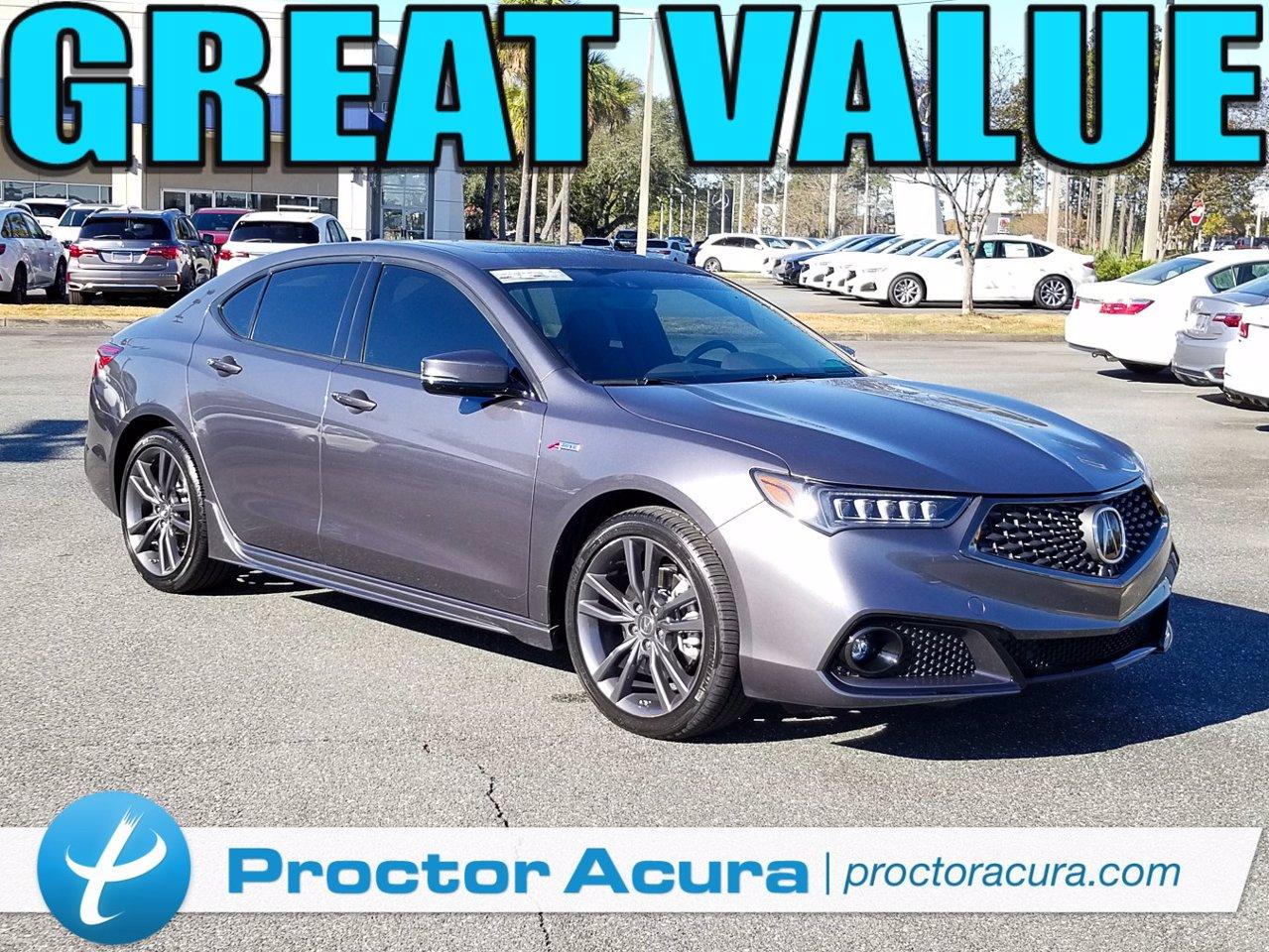 Certified 2018 Acura TLX w/Tech & A-Spec Pkgs