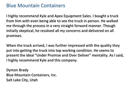 Blue Mountain Containers