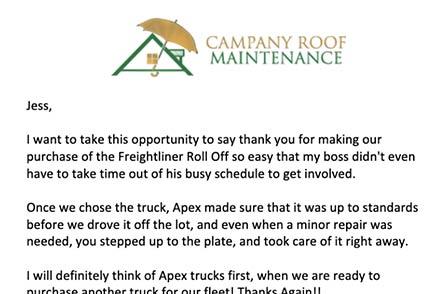 Campany Roof Maintenance