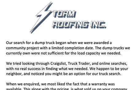 Storm Roofing, Inc.