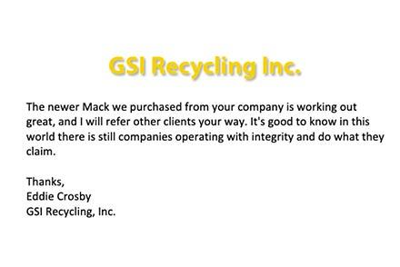GSI Recycling, Inc.