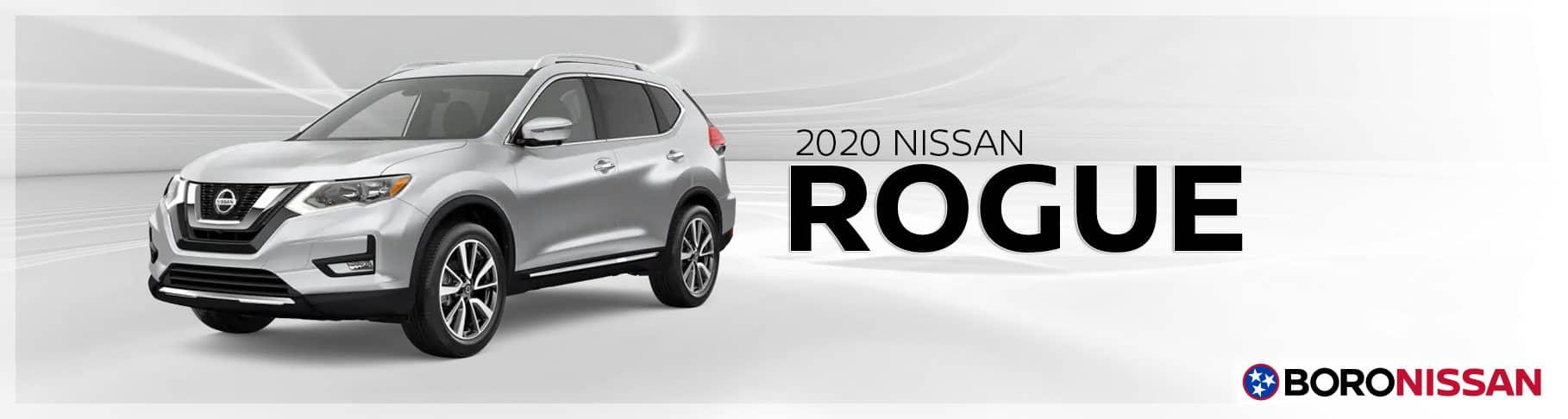 The New 2020 Nissan Rogue Near Nashville, TN