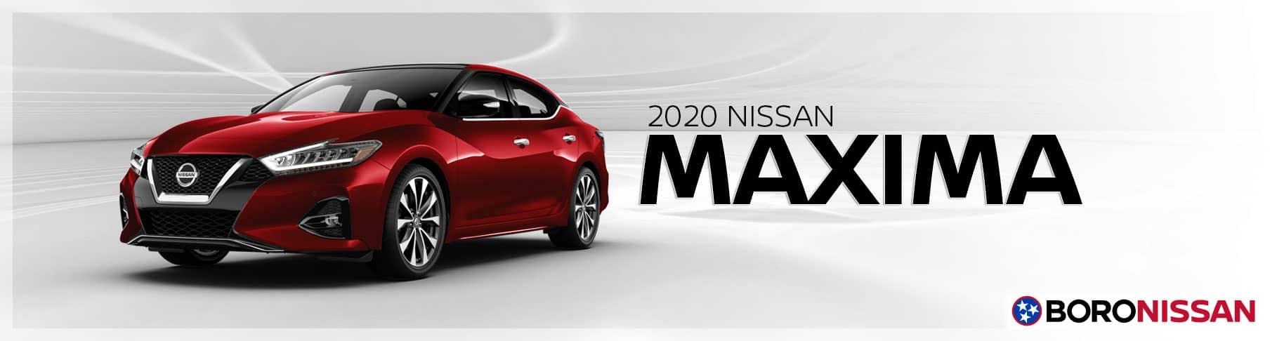 The New 2020 Nissan Maxima Near Nashville, Tennessee