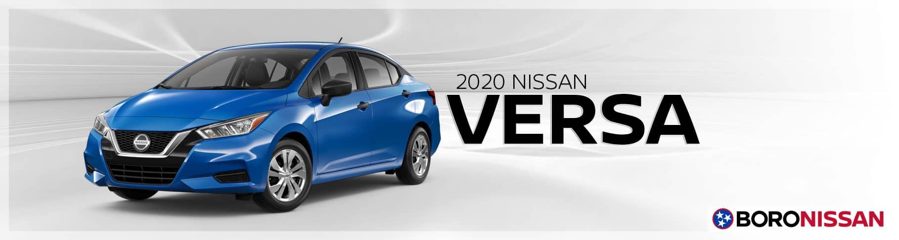 The New 2020 Nissan Versa In Murfreesboro Nissan