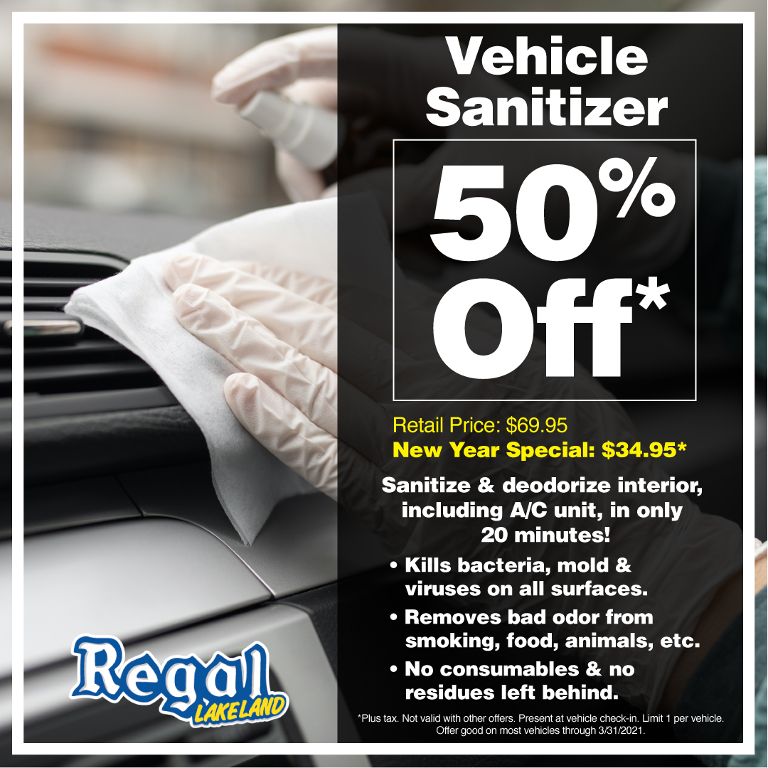 Vehicle Sanitizer Special