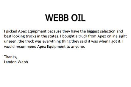 Webb Oil