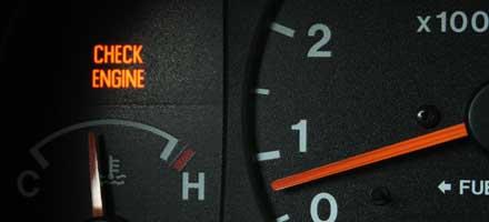 PRELIMINARY CHECK ENGINE LIGHT DIAGNOSES