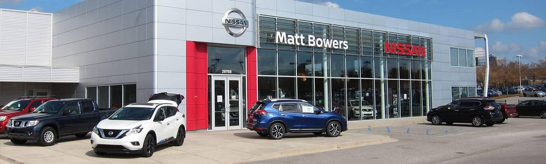 Matt Bowers Nissan Eastern Shore exterior view