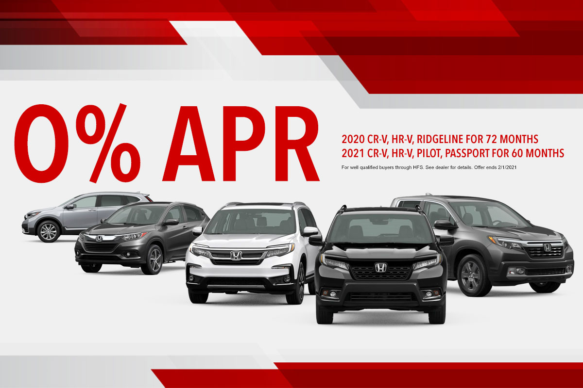 Zero Percent APR for Sixty Months
