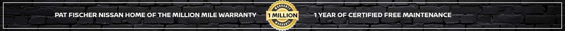 million mile warranty