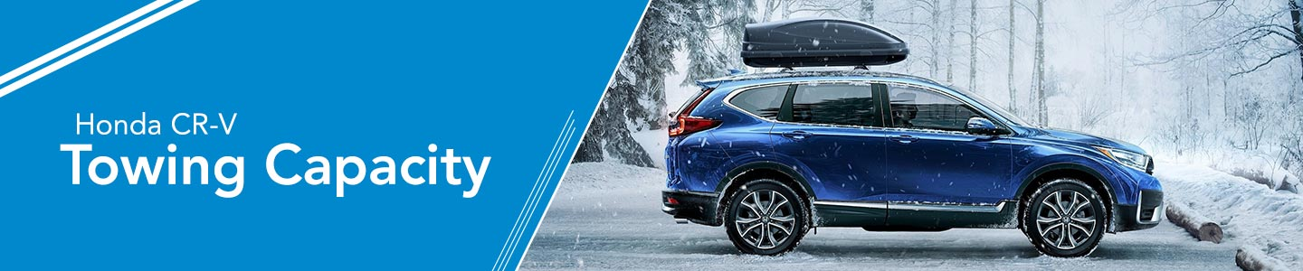 CR-V towing capacity in the snow