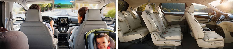 interior 2022 Odyssey