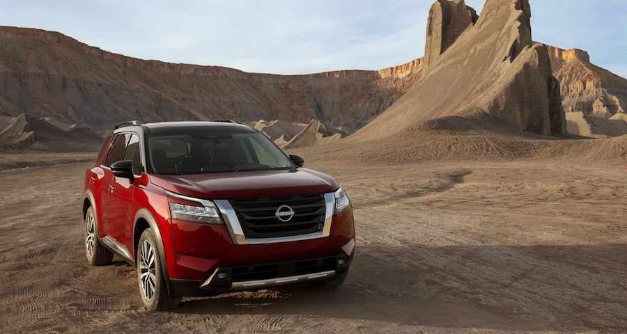New Nissan Pathfinder SUV Near Cape Coral