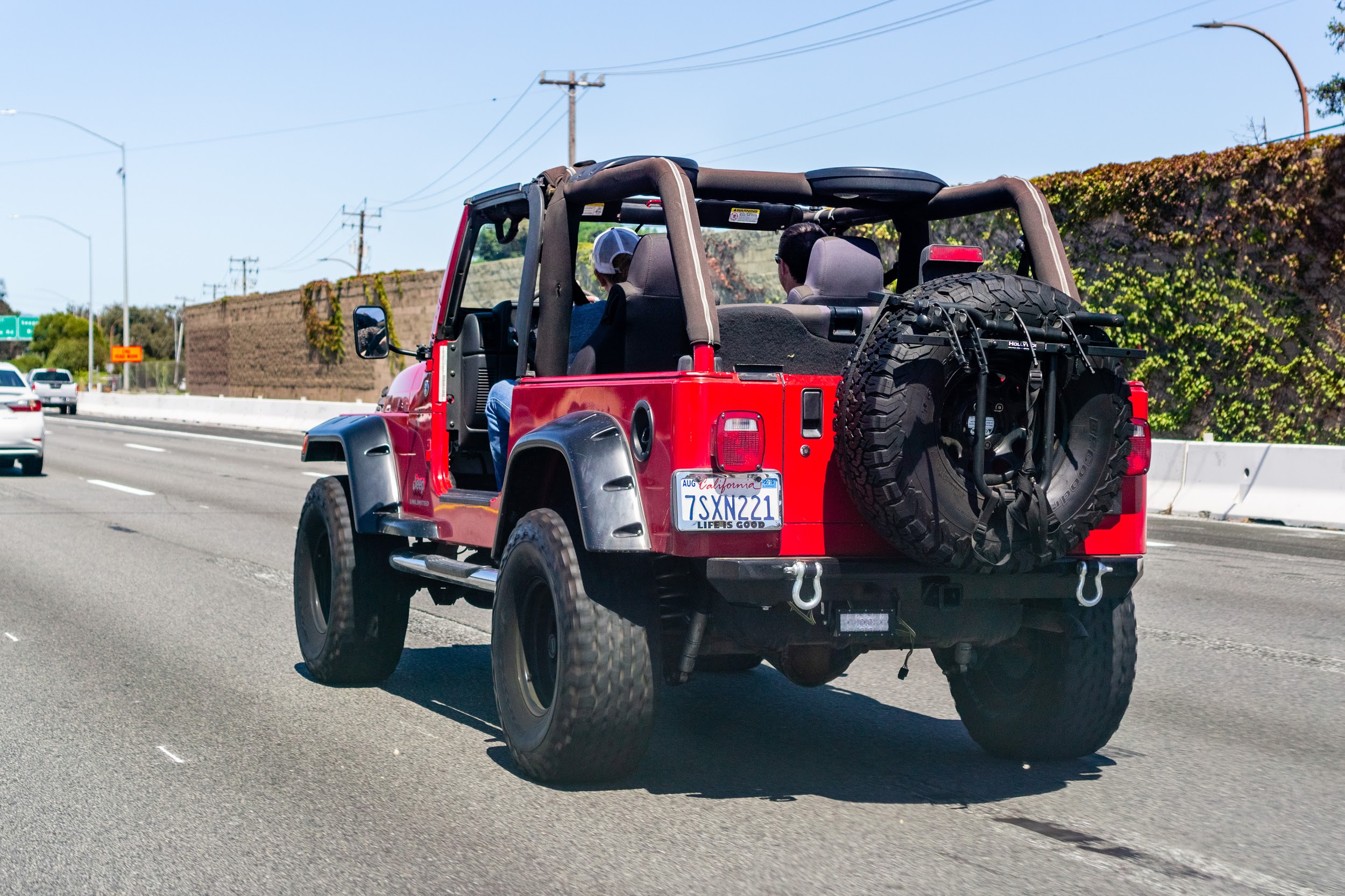 Custom Jeep With or Without Doors