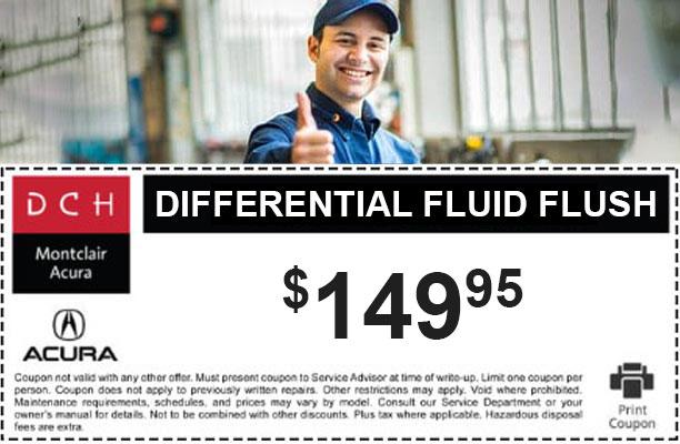 Differential Fluid Flush