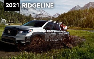 silver 2021 honda ridgeline