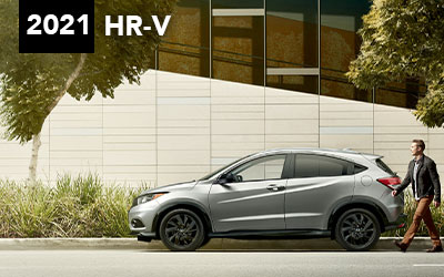 green gray 2021 honda hr-v interstate