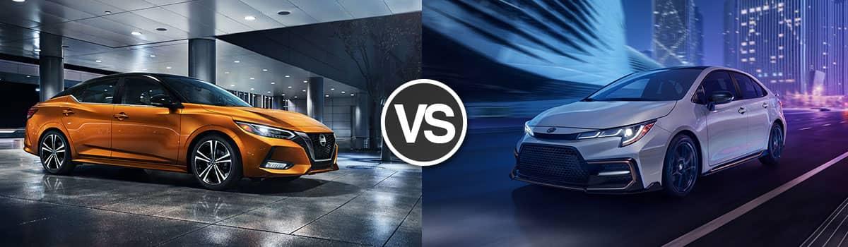 2021 Nissan Sentra vs 2021 Toyota Corolla