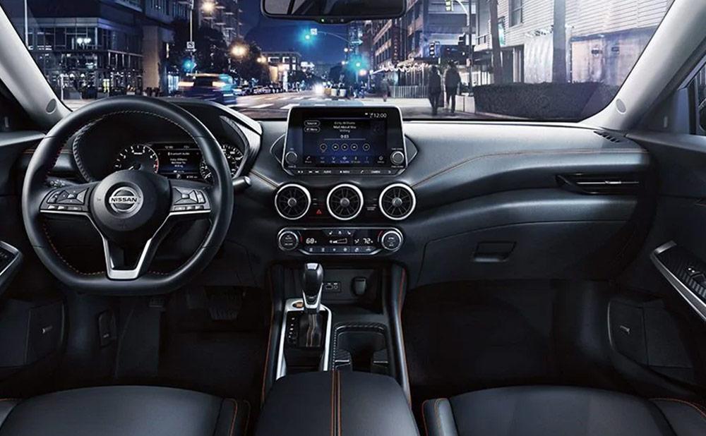 2021 Nissan Sentra Cabin