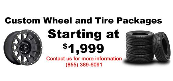 Toyota Custom Wheel & Tire Packages