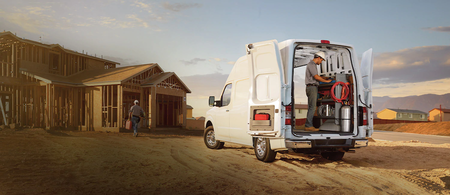 The Nissan NV2500 HD Commercial Van Is Available In Tomball, TX