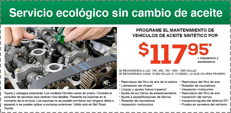 No Oil Change Green Service