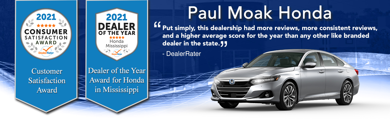 Award-Winning Honda Auto Dealership in Jackson, Mississippi