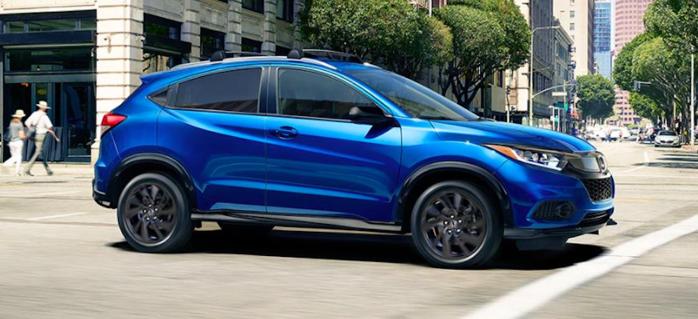 2021 Honda HR-V Color Options