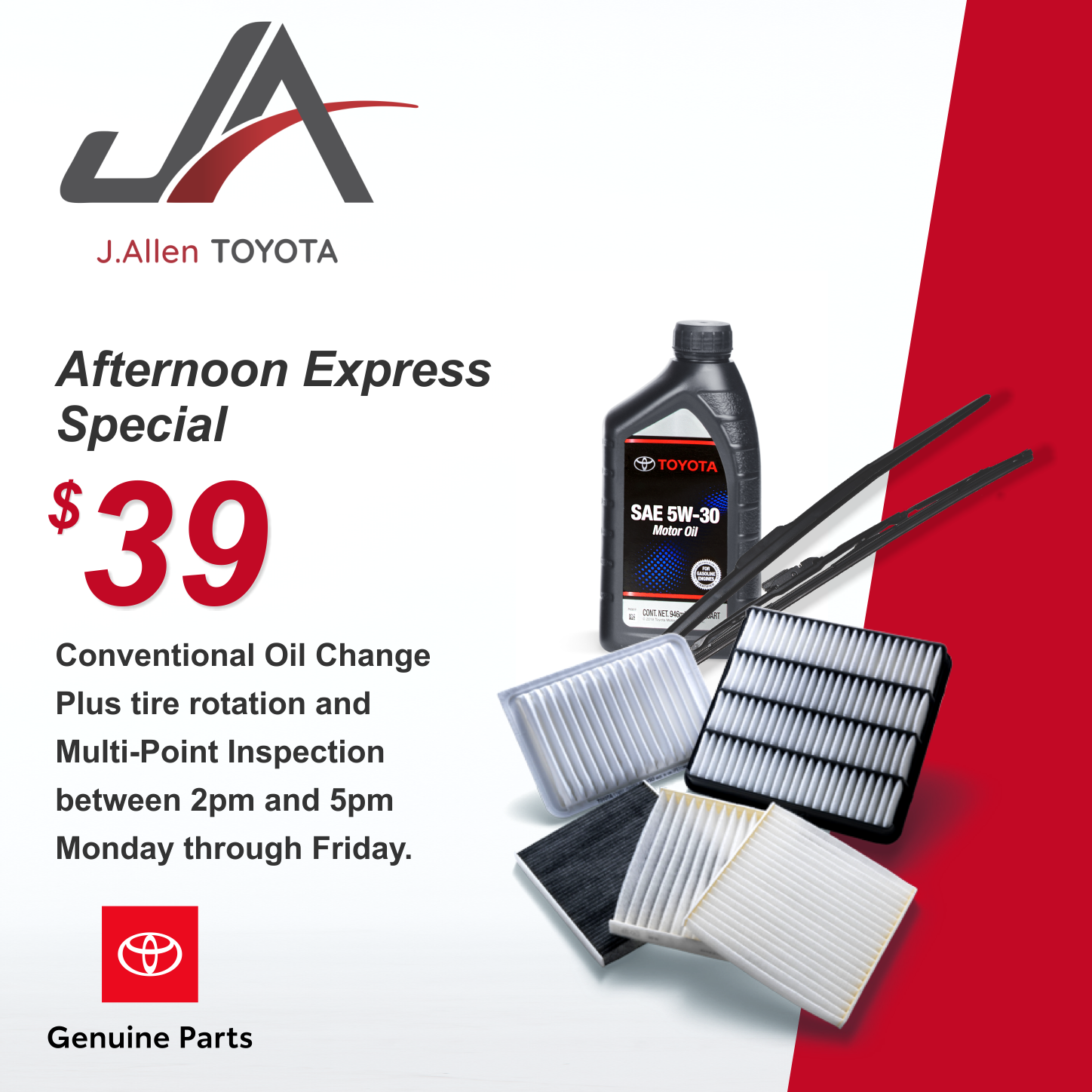 Afternoon Express Conventional Oil Special