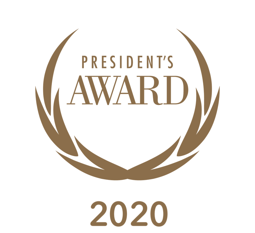 2020 presidents award image